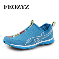 LEOCI Summer Breathable Running Shoes For Men Women Light Quick Dry Walking Water Shoes Outdoor Sneakers