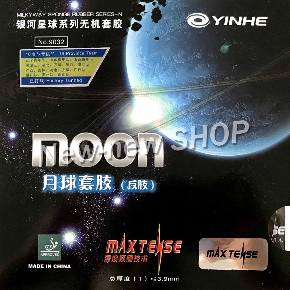 купить Yinhe Moon Max Tense Factory Tuned Pips-In Table Tennis PingPong Rubber with Sponge недорого