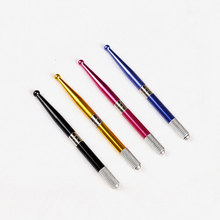 Professional Manual Cosmetic Eyebrow Tattoo Pen Alloy Stainless Embroidered Pencil Machine For Permanent Makeup -27