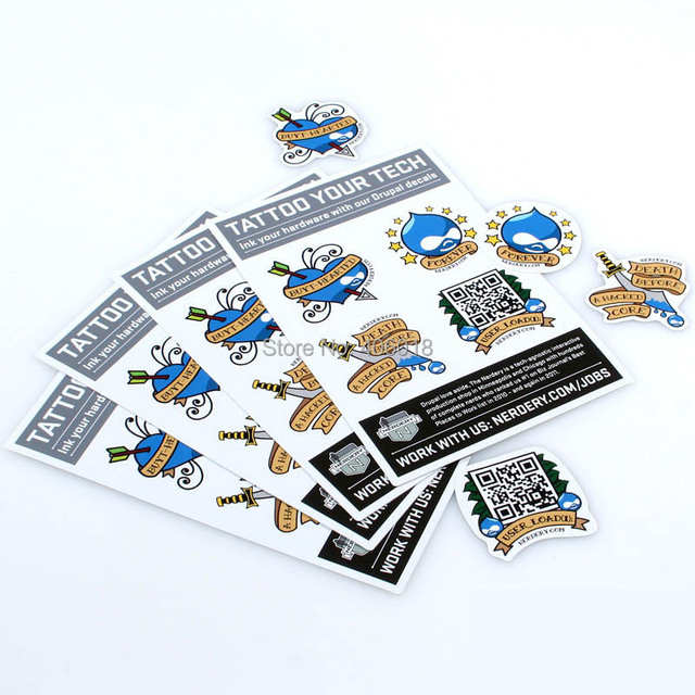 Die Cut Removable Stickers