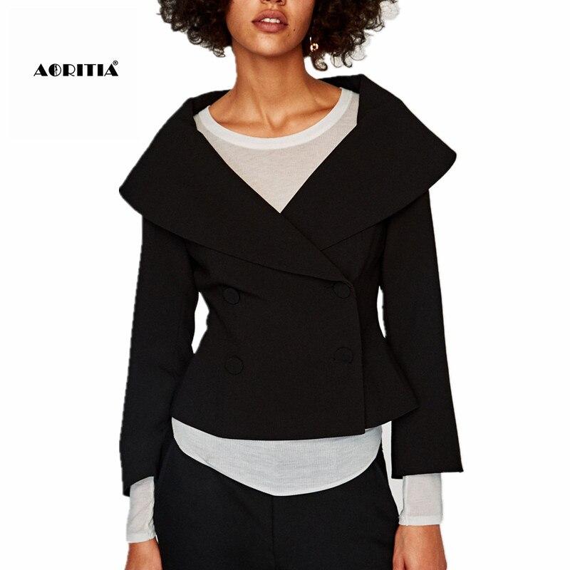 € 17.42 30% de DESCUENTO 2019 mujeres Blazer tres cuartos chaqueta mujer  chaquetas y abrigos Tailleur Femme-in chaqueta de deporte from Ropa de  mujer ...