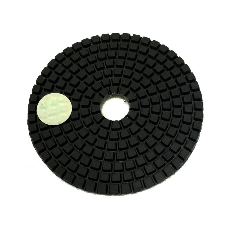 RIJILEI 7PCS / 4tollised elastsed niisked poleerimispadjad 100mm - Elektrilised tööriistad - Foto 2