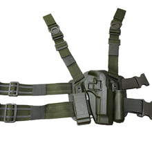 Military Army Tactical Pistol Right Hand Leg Holster Fit For Beretta M9 92 96 Gun With Magazine Pouch