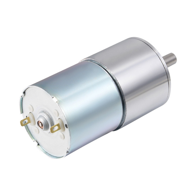 UXCELL High Quality 1Pcs 12V  5RPM DC Gear Motor High Torque Electric Micro Speed Reduction Geared Motor Centric Output Shaft