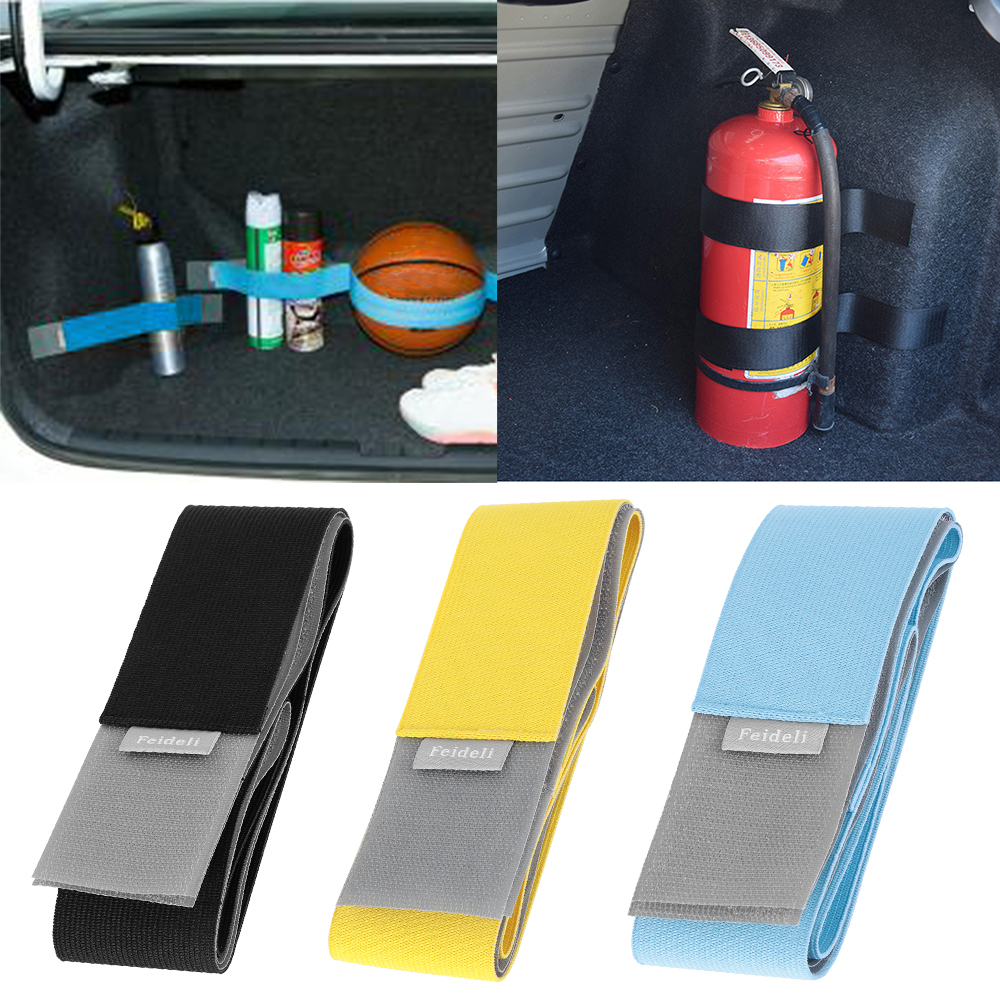 Organizer Tensioning-Belts Trunk Interior-Accessories Magic-Sticker Car Stowing Strap