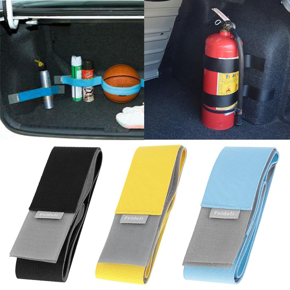 Органайзер на багажник автомобиля, фиксированный эластичный бандаж, волшебная наклейка, аксессуары для интерьера, натяжные ремни