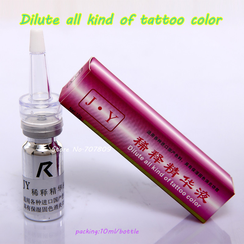 1bottle razredčena tekočina barve za tetovaže za pigment je - Tattoo in body art