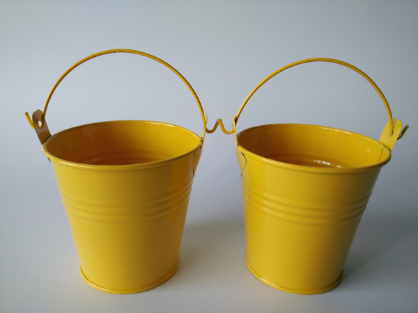 Beau 20pcs/lot Yellow D7.5*D7.5CM Flower Pots Planter Mini Garden