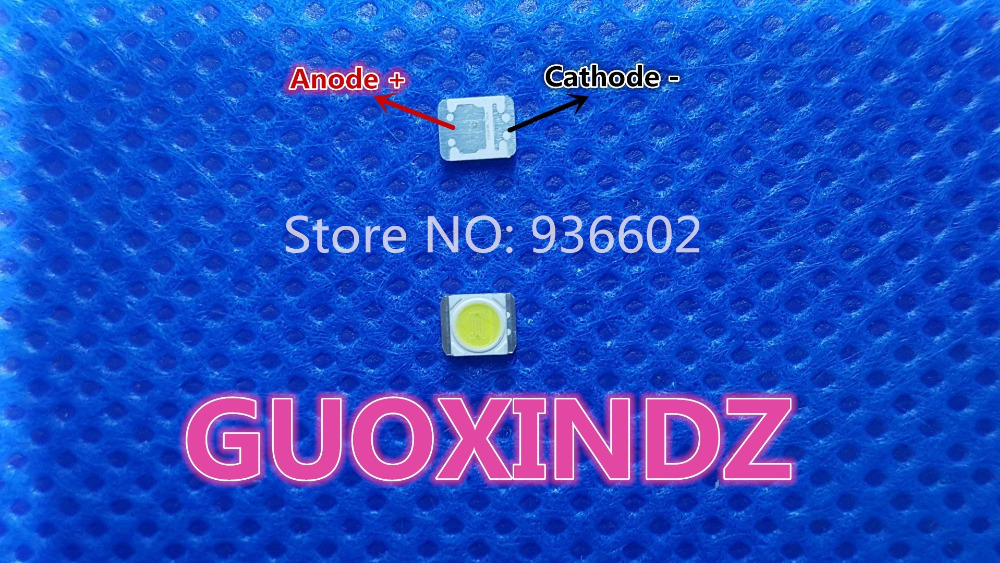 For LG LED LCD Backlight TV Application  LED Backlight  1W  3V  1210  3528  2835   Cool white  LED LCD TV Backlight(China)