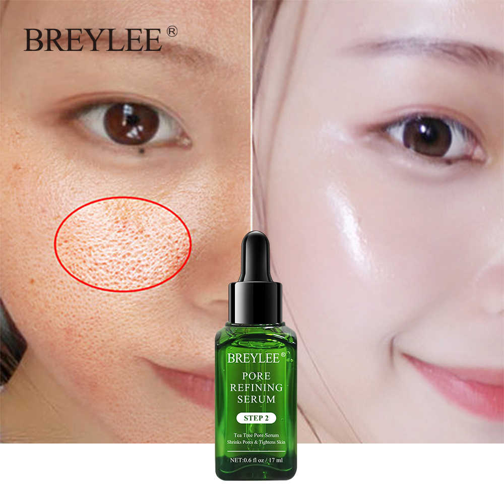 BREYLEE หดรูขุมขนเซรั่ม Pore กระชับ Refining Essence Whitening Anti-Aging Oil Control Facial Essence Skin Care