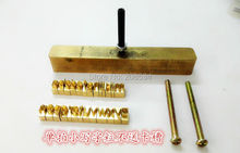 Customize copper Brass Stamp Mold, wood mold, leather mold, wood die cut, leather die cut, paper die cut, bread die,