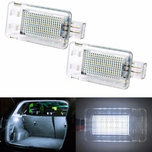 2pcs Car LED Luggage Compartment Lights for Volvo XC70 S60 S80 C70 XC90 LED Luggage font