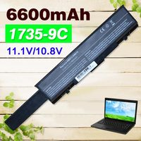 6600mAh Battery For dell Studio 1735 1737 Studio 1737 312 0711 312 0712 451 10660 451 11259 453 10044 KM973 MT342 PW853 RM791