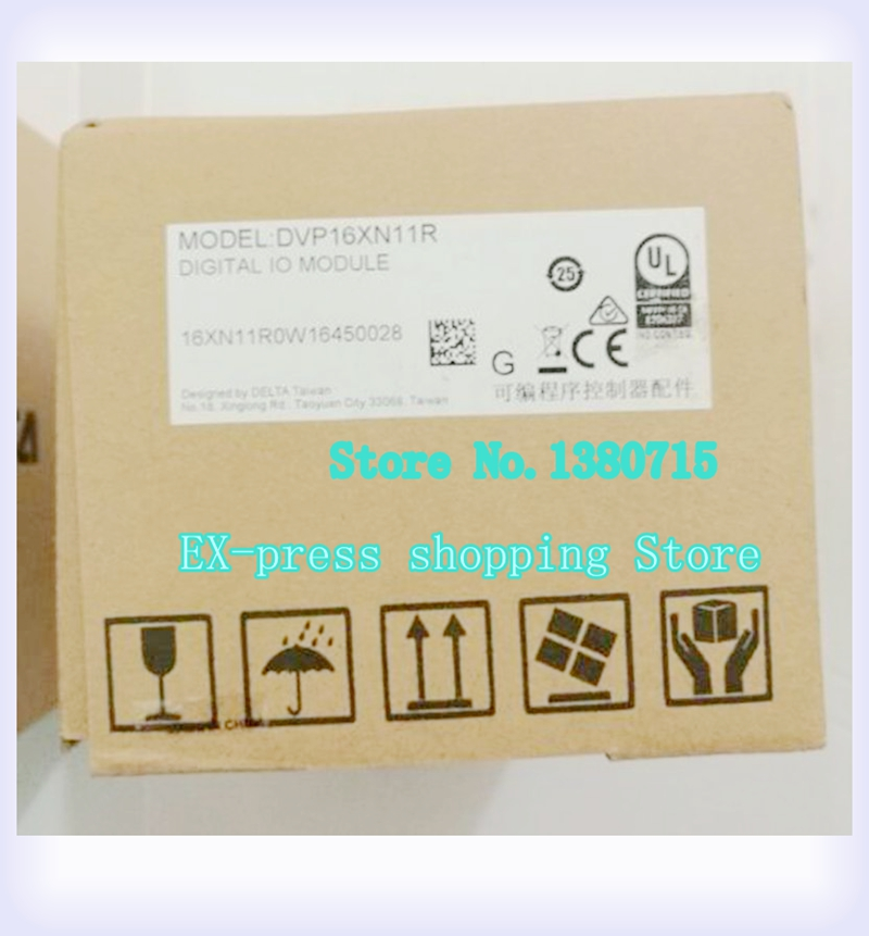New Original DVP16XN11R PLC 16DO relay output Digital Module new original dvp16xn211r plc digital module es2 series 24vdc 16do relay output