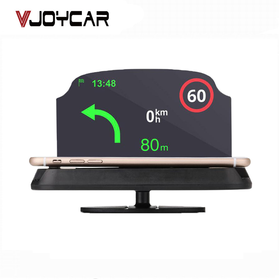 VJOYCAR C62 C63 Head Up Display Holder Car Speedometer Projector Stand Auto Hud Glass Pr ...