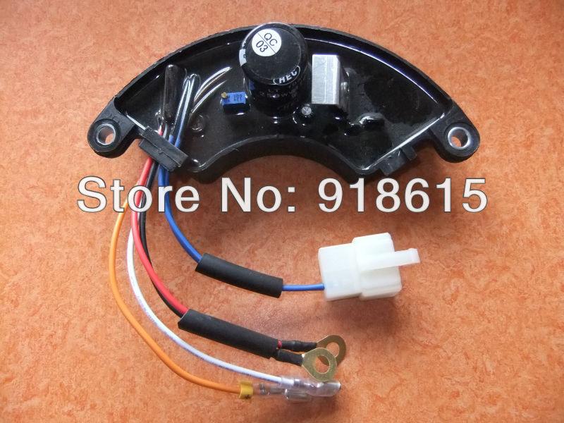 ФОТО  HJ.5k220-B AVR single phase gasoline generator automaitc voltage regulator