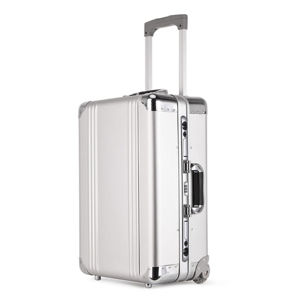 Original Ruitto 20 inch Rolling Carry Trolly Suitcase Aluminum Alloy Rolling Luggage Trolley Case High Quality