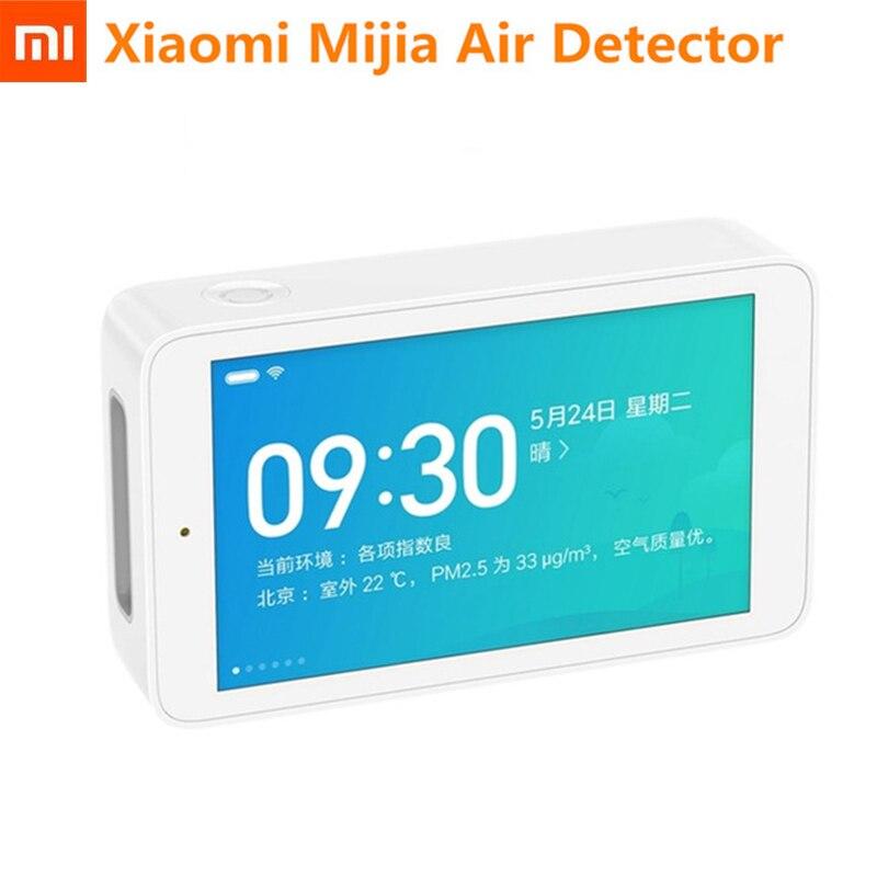 Original Xiaomi Mijia Air Detector High precision Sensor 3 97 inch Screen Resolution USB Interface Home