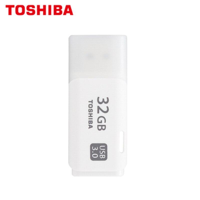 100% Original TOSHIBA U301 USB 3.0 Flash Drive 64GB 32GB Pen Drive Mini Memory Stick Pendrive U Disk White Thumb Flash Disk 1