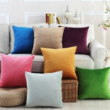 Meijuner velvet cushion cover Fashion simple High Quality Soft pillowcase For Home Party Festival Car chair Decoration