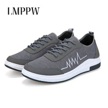 цена на Summer Breathable Men's Casual Canvas Shoes High Quality Fashion Men Flats Zapatos Hombre Men Lace Up Canvas Shoes Sneakers 2A