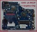Para lenovo g405 g505 vawga placa madre del ordenador portátil/gb la-9911p placa madre el 100% probado