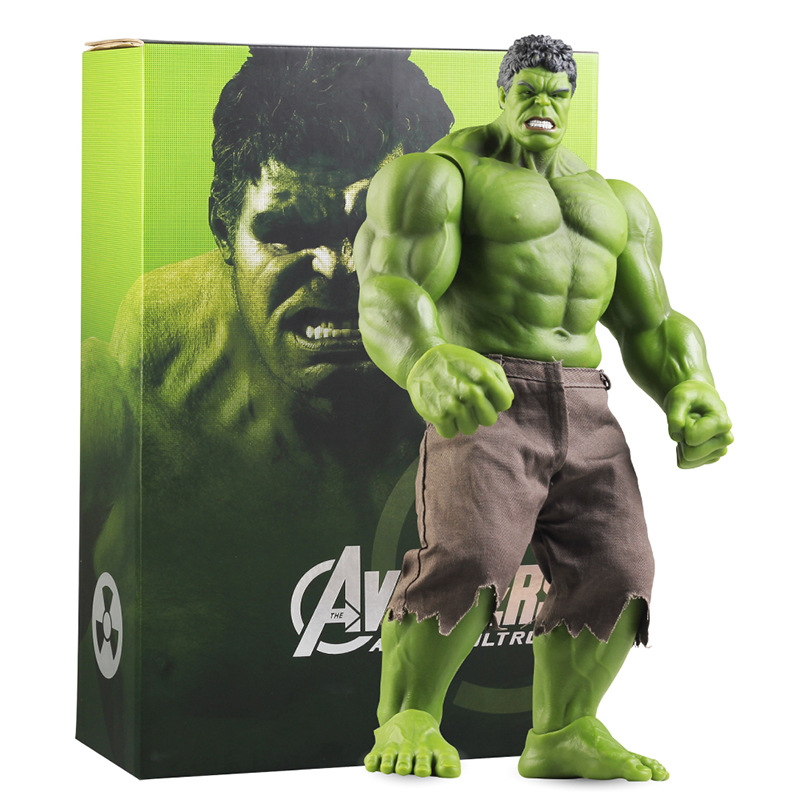 Hot Avengers Incredible Hulk Iron Man Hulk Buster Age Of Ultron Hulkbuster 42CM PVC Toys Action Figure Hulk Smash avengers age of ultron iron man hulk vision ultron war machine pvc action figures toys with led light 5pcs set