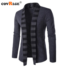 Covrlge Mens Sweaters Long Sleeve Cardigan Male Pull Style Cardigan Clothings Fashion Casual Men Knitwear Sweater Coats MZL047
