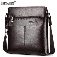 New Trend Fashion Men Messenger Bags Men PU Leather Shoulder Bag Designer Famous Brand Business Briefcase