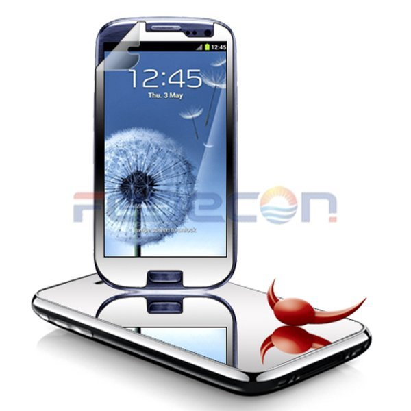 Mirror LCD Static Screen Protector Cover Guard For Samsung Galaxy S3 i9300 i747