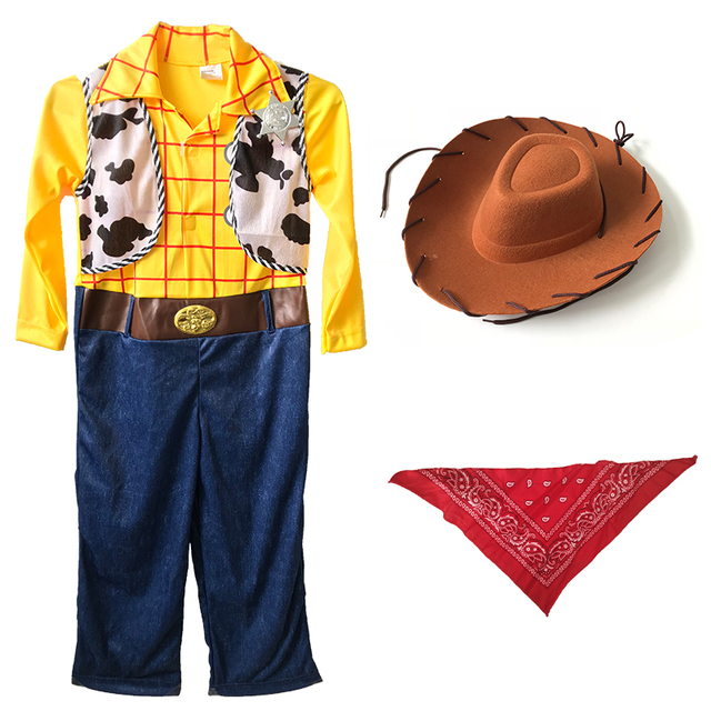 Halloween Costume Woody from Toy Story