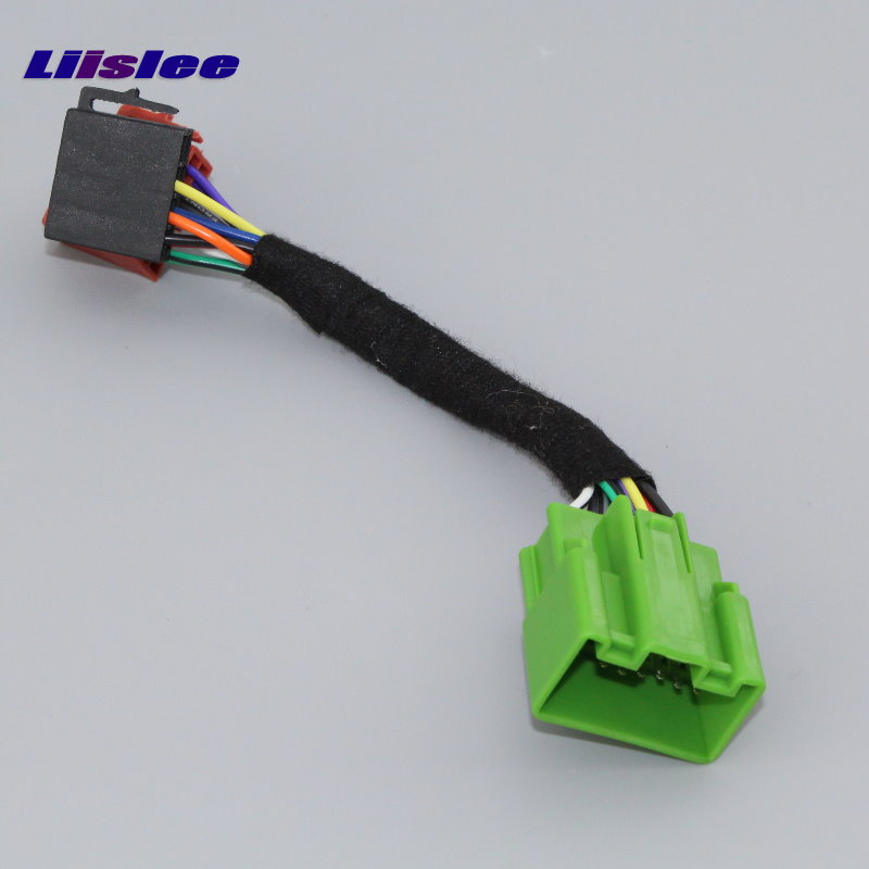US $11 52 36% OFF|Liislee Plugs Into Factory Harness For Volvo S40 V40 S70  V70 S60 S80 HU 850 Radio Wire Adapter Aftermarket Stereo Cable Male-in