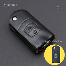 Car Key Shell Cover Bag for Mazda 3 2 5 6 8 323 626 Atenza Axela Cx5 Cx7 Cx9 Mx5 Rx Familia Accessories case led 2017 2018 mazd 3 axela daytime light axela fog light axela headlight tribute rx 7 rx 8 protege mx 3 miata cx4 axela