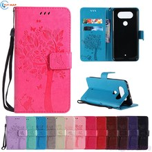 Coque For LG Q8 H970 X800K Wallet Flip Mobile Phone PU Leath