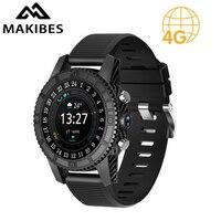 Бесплатная доставка Makibes MK01 Смарт часы 1 МБ + 16 ГБ WI FI 4G gps сердечного ритма Bluetooth 4 ядра карт Google браузер i7 часы телефон