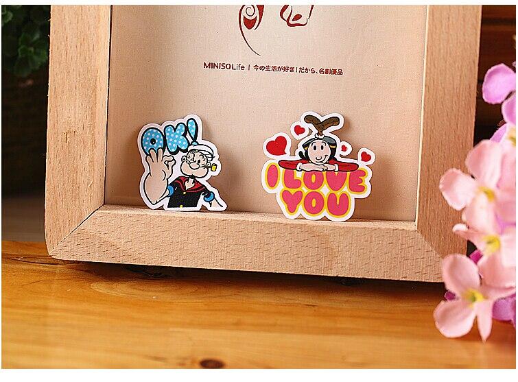 40pcs Creative kawaii Self-made Popeye Stickers/ Beautiful Stickers /Decorative Sticker /DIY Craft Photo Albums