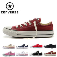 2018Original 2018 new CONVERSE ALL STAR men women's all star sneakers canvas low/hight Skateboarding Shoes Size .(China)