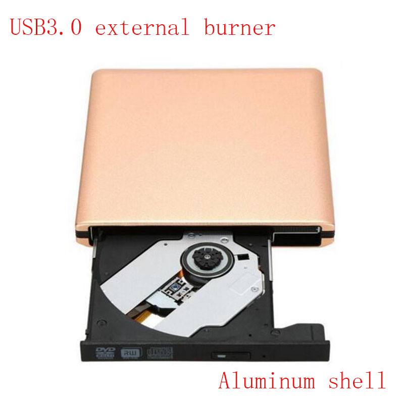 Aluminum case USB3.0 External DVD burner Optical drive ...