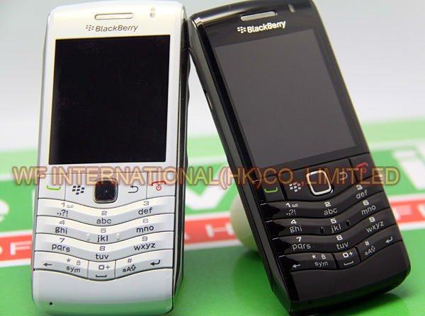Цена за Оригинальный BlackBerry Pearl 9105 Мобильный Телефон 3 Г GSM Wi Fi Смартфон Quadband Разблокирована