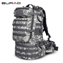 ACU Camouflage Men Sports Bag Professional Mountaineering Backpack Waterproof Big Capacity 50L Outdoor Mountain Backpacks
