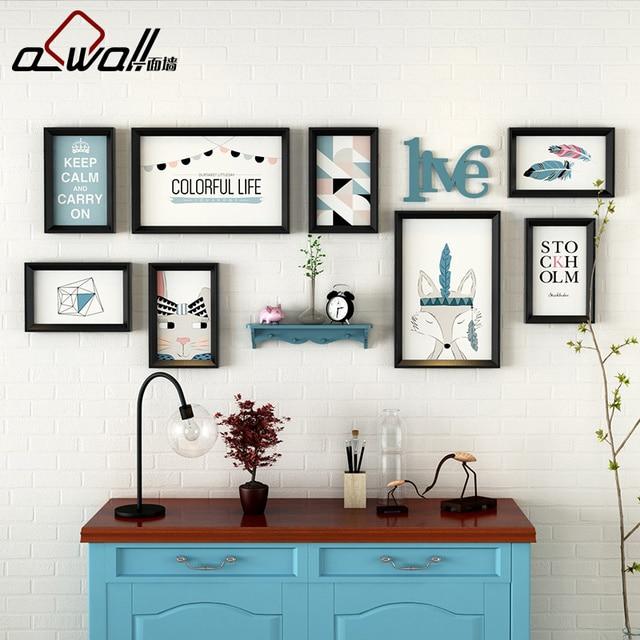 Aliexpress.com : Buy Picture Frames 8Pieces/Set White Photo Frames ...