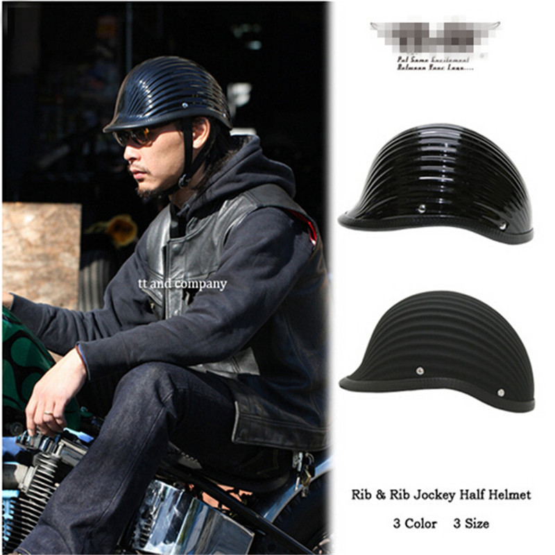 мото шлем ТТ&Co из Японии Томпсон мотоцикла Harley шлем шлем Харли стиль стекла стали старинные мода мотоцикл шлем