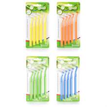 5Pcs L Interdental Brushes Oral Care Tooth Push-Pull Removes Food And Plaque Better Teeth Hygiene Tool 0.6-1.5mm