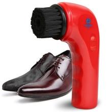 USB recargable eléctrica zapatos pulidor cepillo sofá de cuero coche de  enfermería pequeña mano limpiador de zapatos máquina de . b5ab5ecc28b2