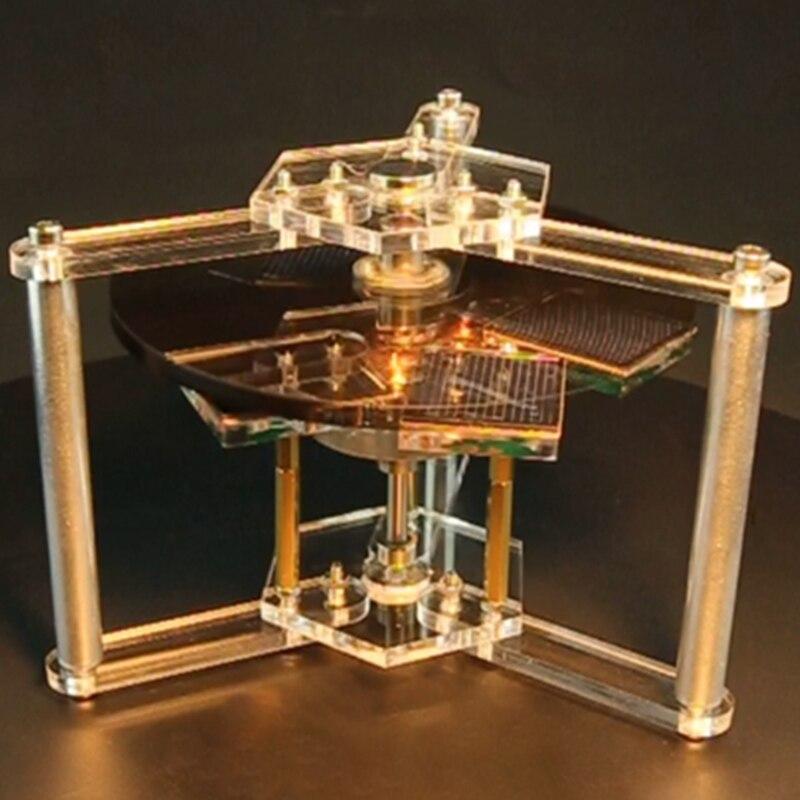 Magnetic Suspension Solar Motor Creative Magnetic Suspension Decoration Scientific Gift