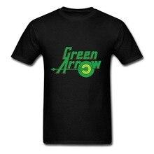 DC Green Arrow T-Shirt Men Summer Hip Hop T Shirts