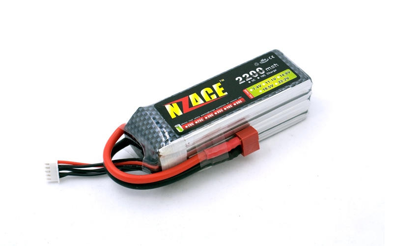 Free Shipping NZACE POWER Lipo Batteria 14.8V 2200Mah 30C Max 50C Lipo Battery 4s For RC Cars Helicopters Cars Boats Quadcopters