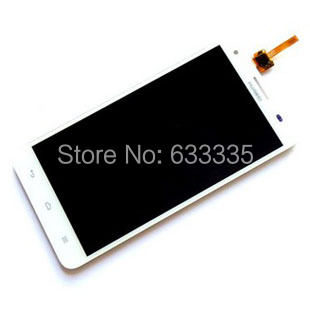 LCD Display Screen Digitizer Touch Panel Glass Assembly For Huawei Honor 3X pro g750-T20 lens 5.5 inch white Free Shipping