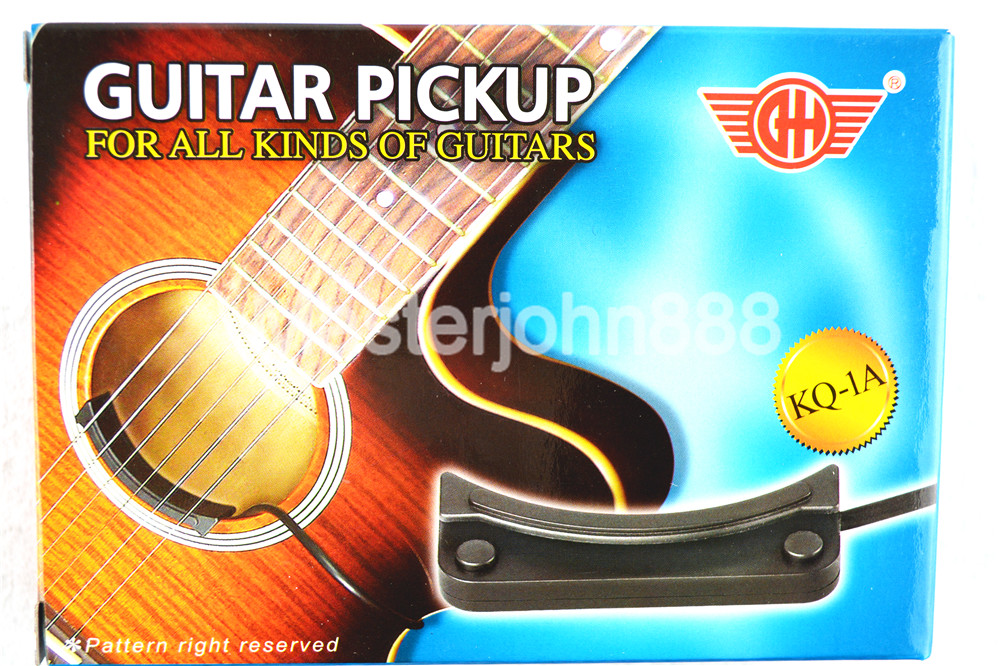 KQ 1A Acoustic Guitar Pickup Wire Amplifier Sound Hole Ceramic ...