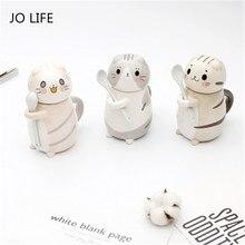 JO LIFE Heat-resistant Cartoon Cute Cat Model Ceramic Cup Milk Juice Lemon Mug Water Coffee Home Office Drinkware